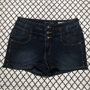 Hot Topic (LOVEsick) High Waisted Denim Shorts <3